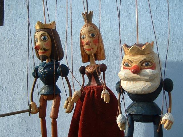 Collection, 3 marionnette poupée