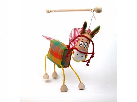 Cheval , marionnette poupée