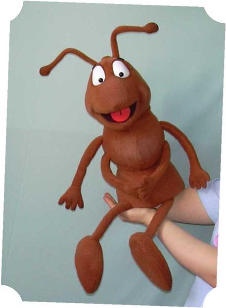 Fourmi ,  marionnette poupée