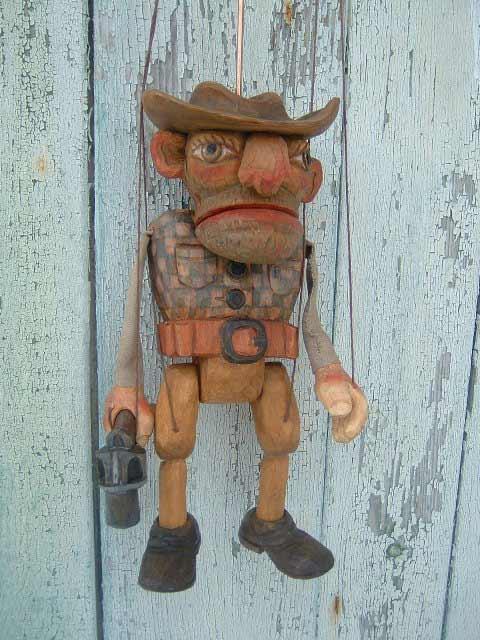 Gangster , marionnette poupée
