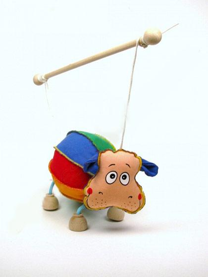 Hippopotame , marionnette poupée