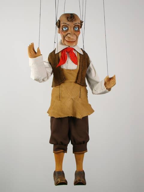 Marionnettiste , marionnette poupée