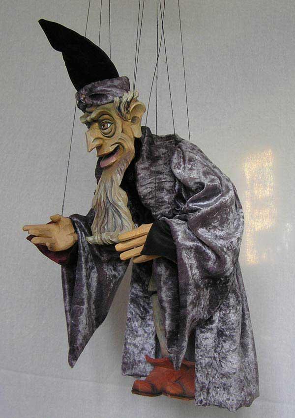 Maure , marionnette poupée