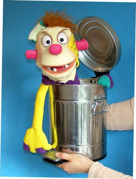 Mr.Trash ,  marionnette poupée