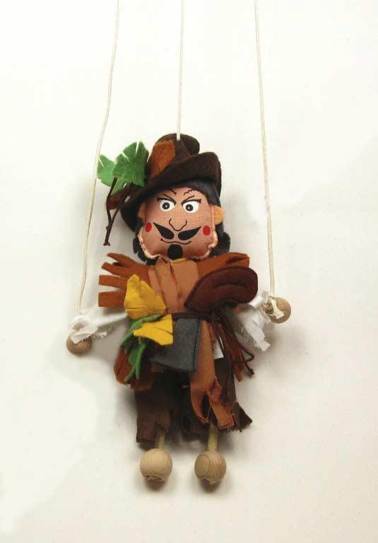 Brigand , marionnette poupée