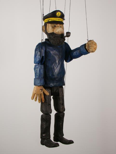 Capitaine Haddock , marionnette poupée