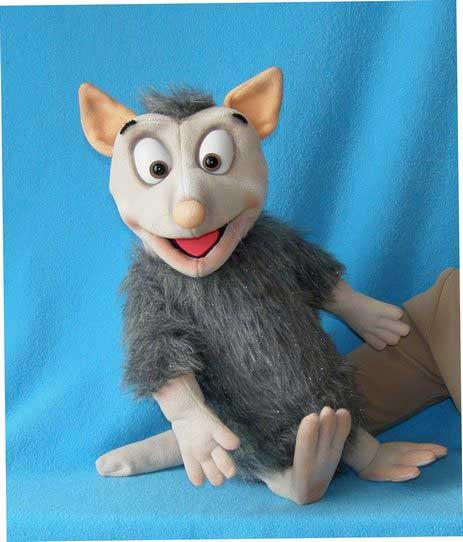 Opossum  ,  marionnette poupée