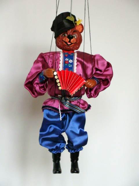 Ours russe , marionnette poupée