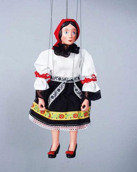 Paysane  , marionnette poupée