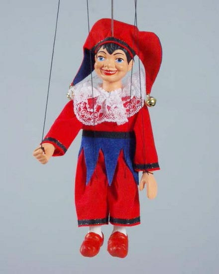 Polichinelle , marionnette poupee