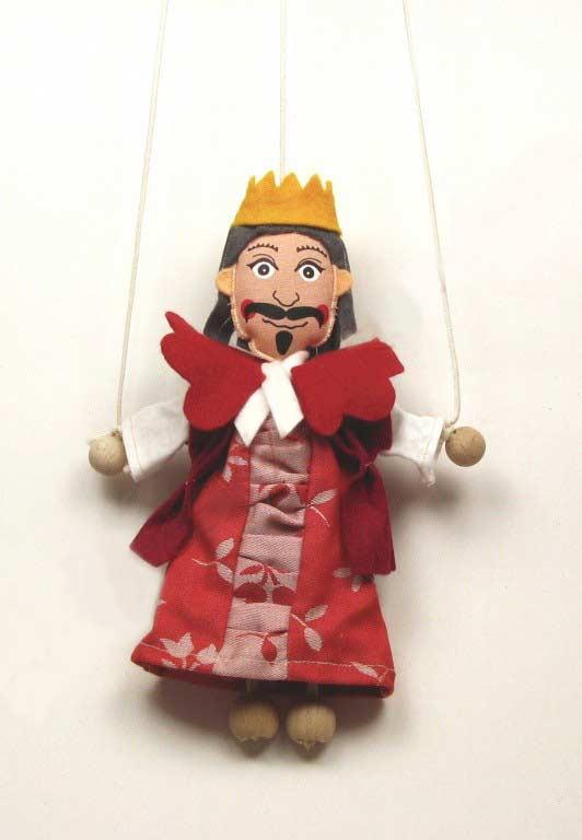 Roi , marionnette poupée