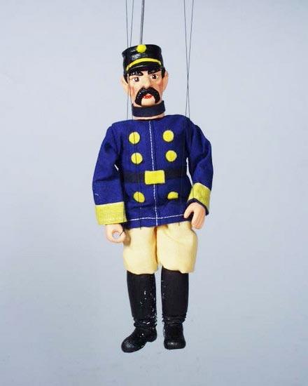 Soldat, marionnette poupee