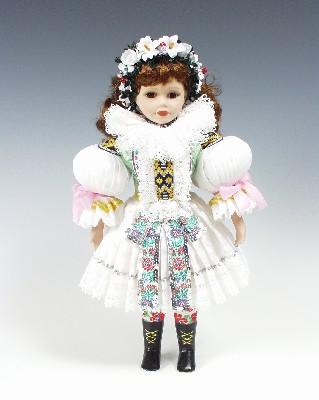 Fiancée Uhersky brod , poupée tchèque