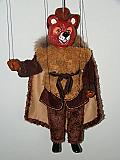 Ours brun, marionnette poupée