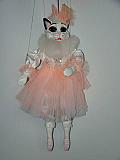 Chatte ballerine , marionnette poupée