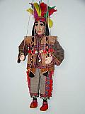 Indien , marionnette poupée