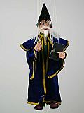 Alchimiste , marionnette poupée