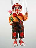 Clown , marionnette poupee