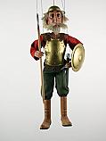 Don Quichotte ,  marionnette poupee