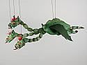 Dragon , marionnette poupee