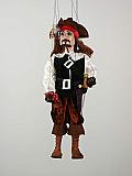Pirate , marionnette poupée