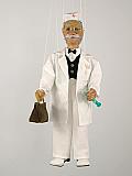 Docteur , marionnette poupée