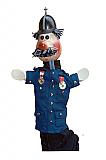 Policier, marionnette  poupée
