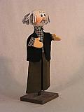 Grand-pere , marionnette  poupée