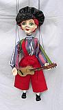 Guitariste  , marionnette poupée