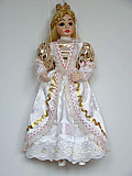 Princesse, marionnette poupée