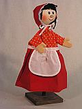 Chaperon Rouge , marionnette poupée