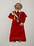Cardinal , marionnette poupée