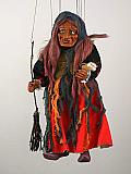 Chipie , marionnette poupée