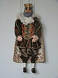 Roi, marionnette poupée