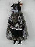 Loup , marionnette poupée