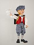 Apprenti , marionnette poupée