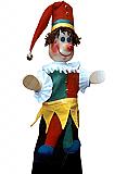 Polichinelle, marionnette  poupée