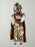 Turc vizir, marionnette poupée