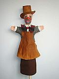 Gnafron , marionnette  poupée