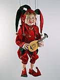 Bouffon marionnette poupee
