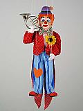 Clown , marionnette poupée