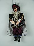 Mousquetaire , marionnette poupée
