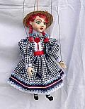 Fillette  , marionnette poupée