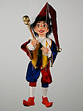 Polichinelle , marionnette poupée