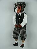 Chien , marionnette poupée