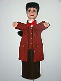 Guignol , marionnette  poupée