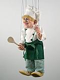 Cuisinier , marionnette poupee
