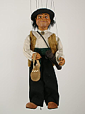 Sancho Panza , marionnette poupée
