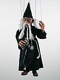 Magicien, marionnette poupee