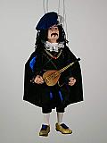 Ménestrel, marionnette poupée
